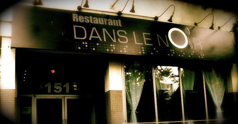 Les restaurants insolites en france booster 2 success for Dans ke noir