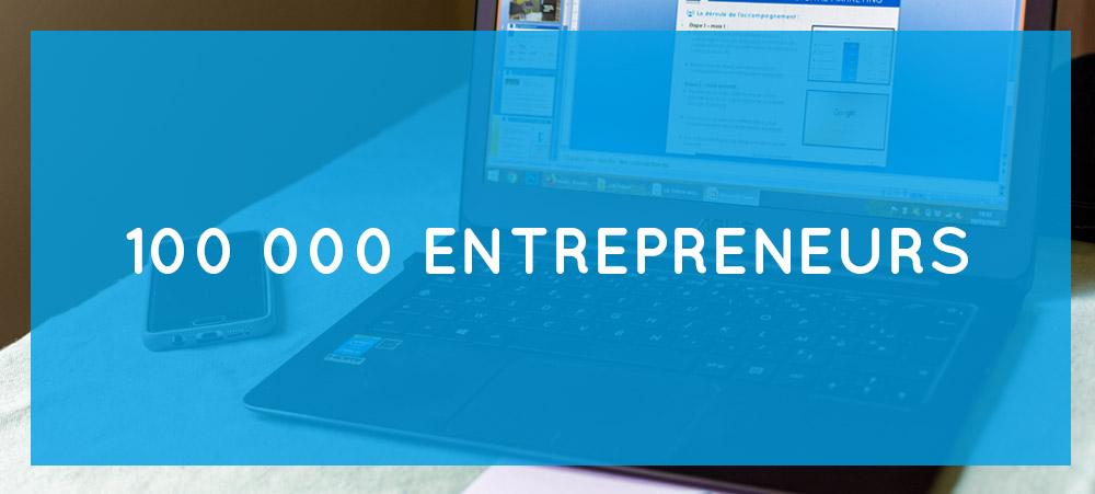 Booster 2 Success partenaire de 100 000 entrepreneurs