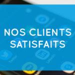 Nos clients satisfaits - Communication digitale et marketing