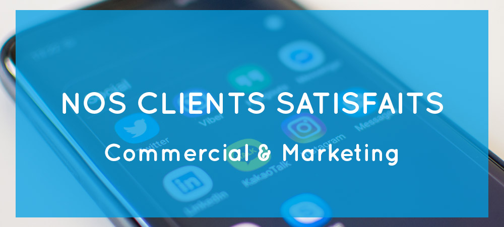 Nos clients satisfaits – Consulting commercial et marketing