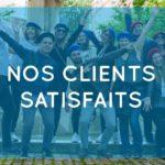Nos clients satisfaits - Team building ludiques à Paris