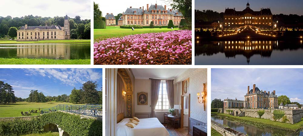 Most beautiful chateau hotels in Ile de France