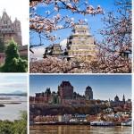 Unusual castles across the world