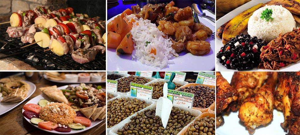 Tour du monde de la gastronomie