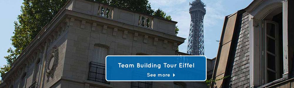 team building activities Paris Tour Eiffel