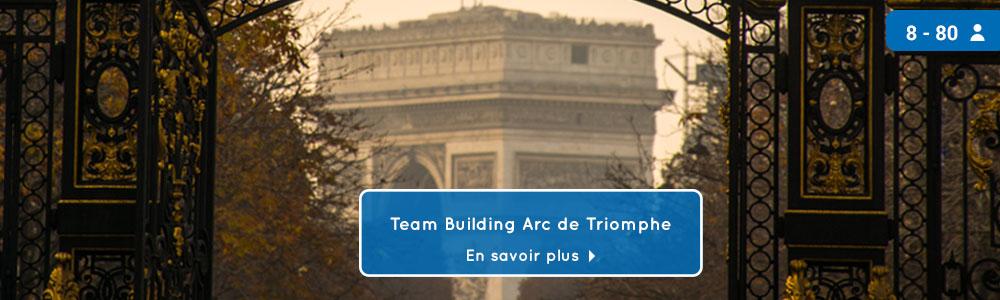 teambuilding arc de triomphe
