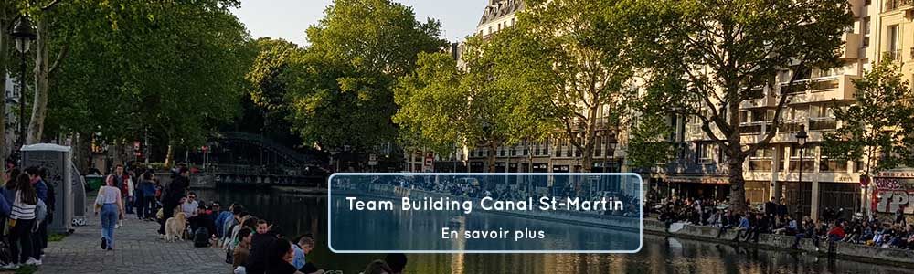 team building canal saint martin