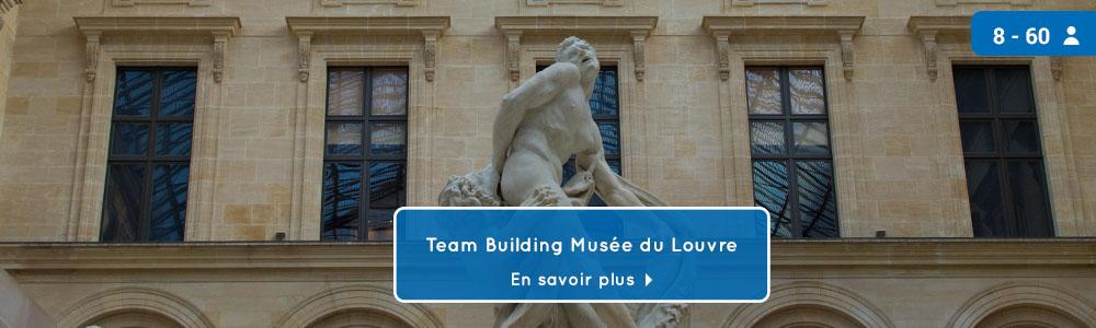 teambuilding jeu de piste musée Louvre