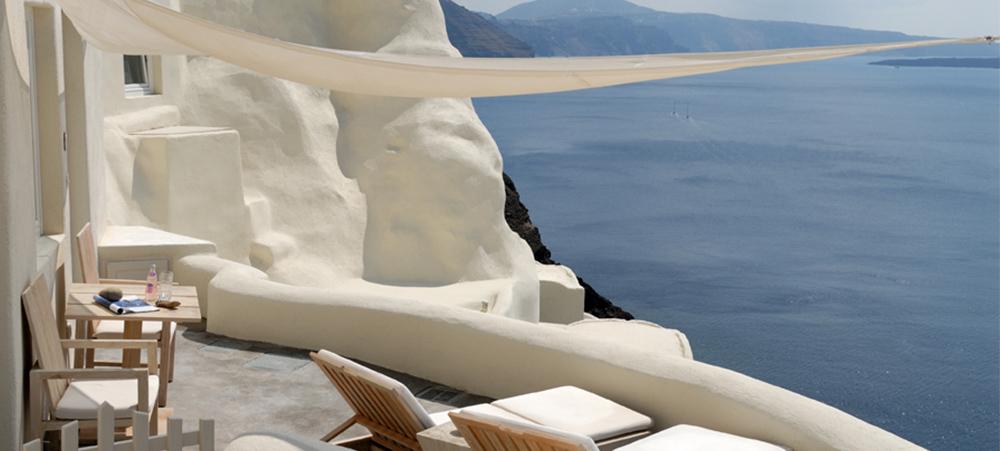 Hôtel d'exception : Mystique hôtel Santorini