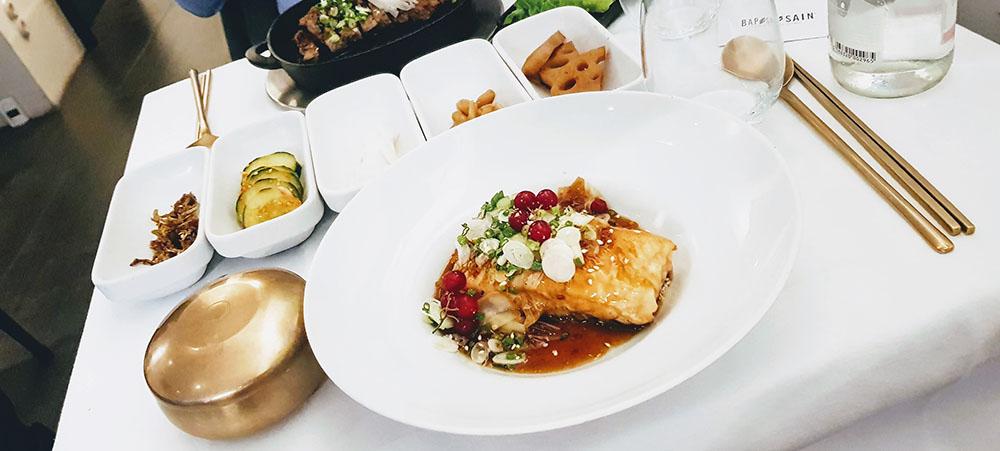 Restaurant coréen à Paris : Bap Sain cuisine bistronomique à l'honneur