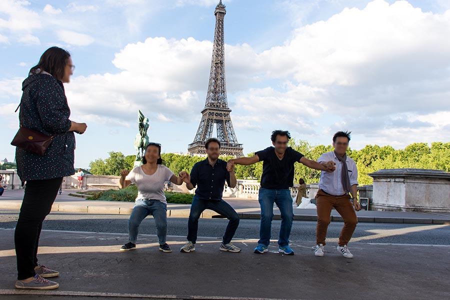 Team building Tour Eiffel 3