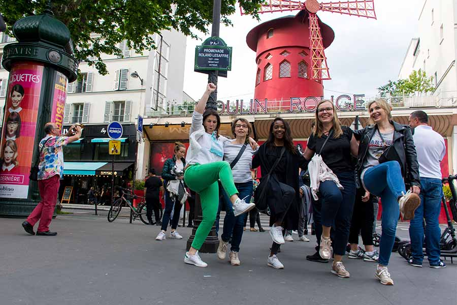 team building Montmartre