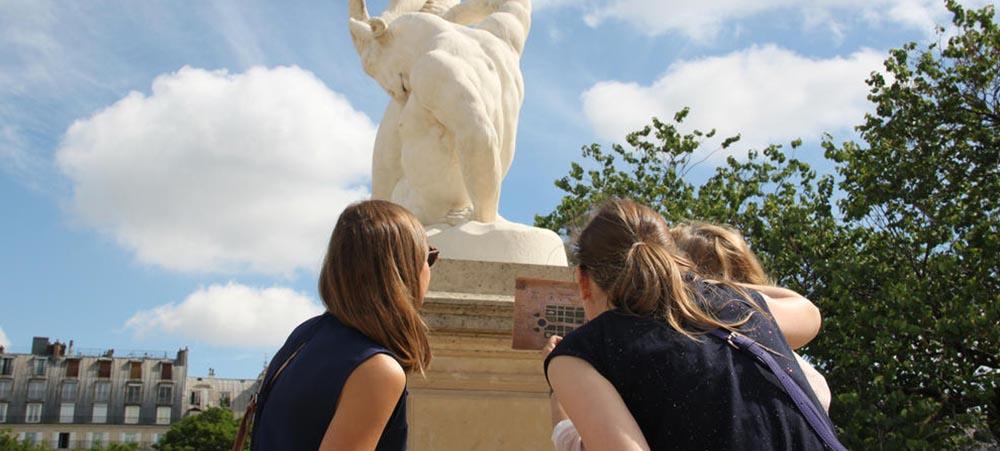 Expérience inédite : adventure game du Louvre – mystères aux Tuileries