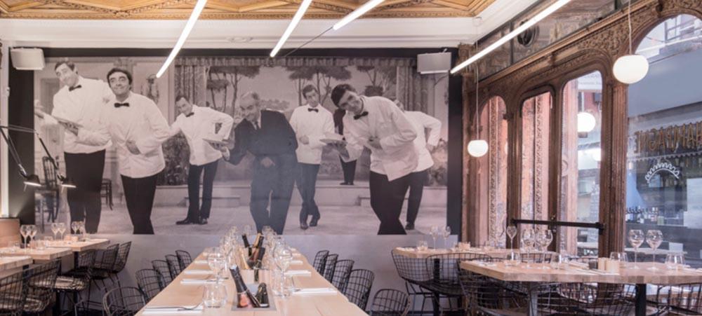 Canard & Champagne : restaurant original à Paris Opéra