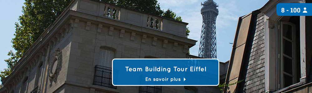 teambuilding Tour Eiffel
