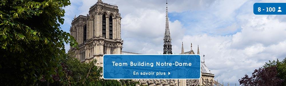 teambuilding jeu de piste Notre-Dame