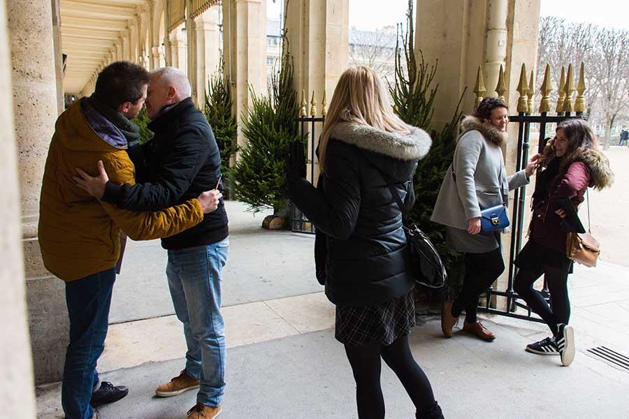 Team building à Paris 10 personnes passages couverts