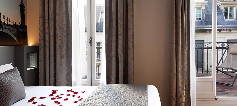 4 star hotel in Paris: Dream Hotel Opera, a charming place