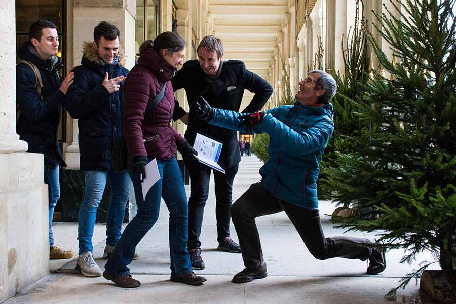 team building passages couverts galerie du palais-royal