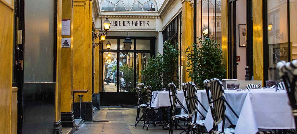 Unique restaurants in Paris close to the famous covered passages