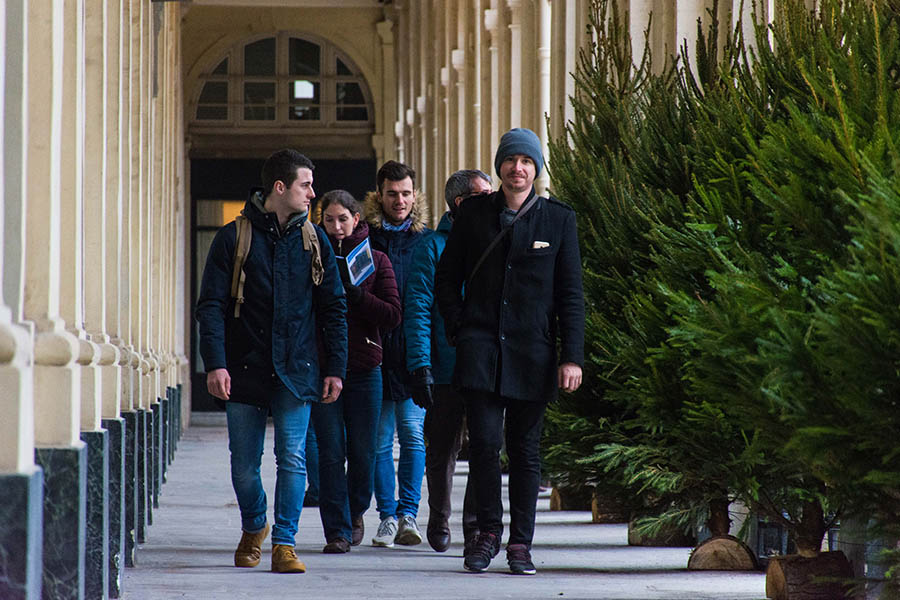 team building à Paris l'hiver