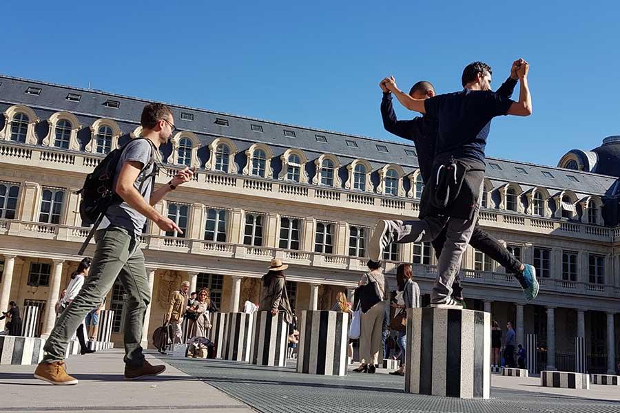 Team building pour 100 personnes Palais Royal