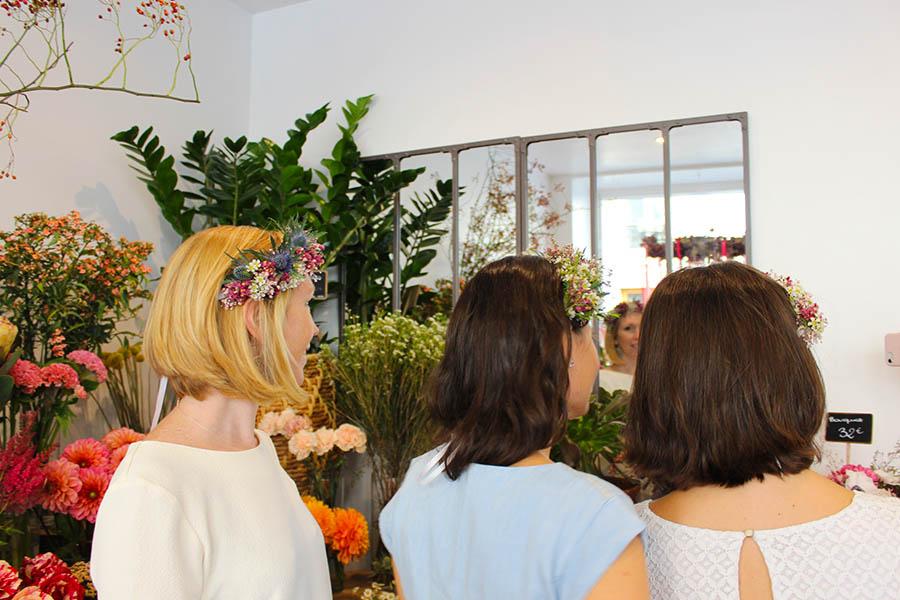 idées d'activités EVJF activité florale