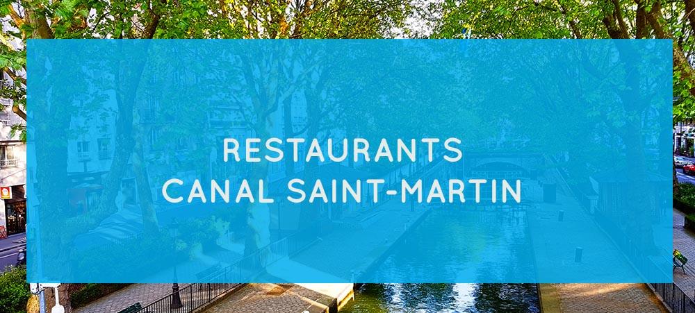 Nos recommandations de restaurants proches du canal Saint-Martin