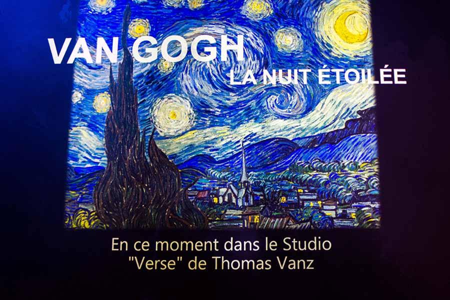 Exposition Van Gogh atelier des lumières photo 1