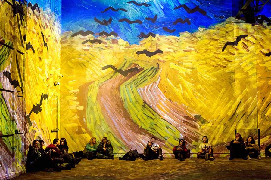 Exposition Van Gogh atelier des lumières photo 2