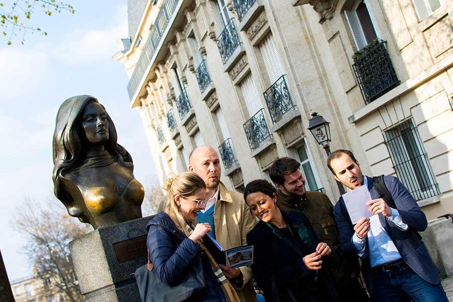 Team building apour 40 personnes à Paris Montmartre