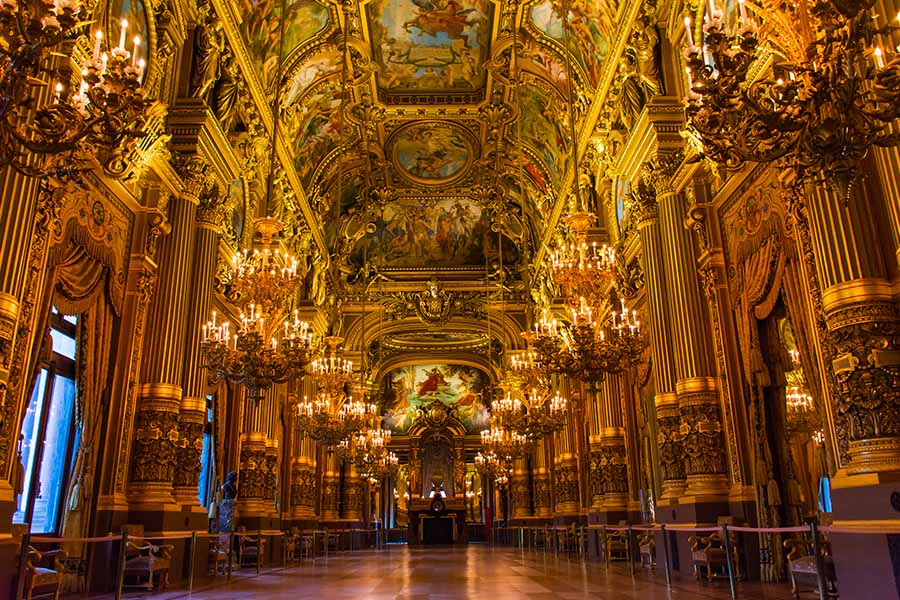monuments incontournables à Paris Opéra Garnier eslphoto events