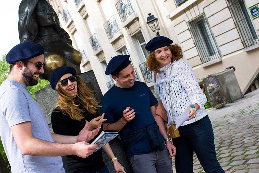 Image 2 team building ludique à Montmartre Sojern