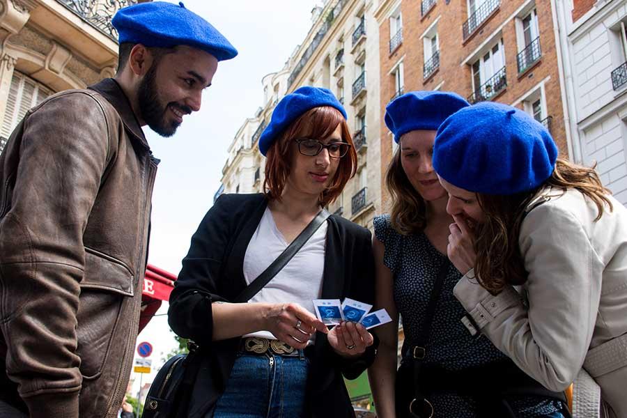 Image 3 team building ludique à Montmartre Sojern