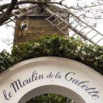 Le Moulin de la Galette restaurant: an emblem of Montmartre