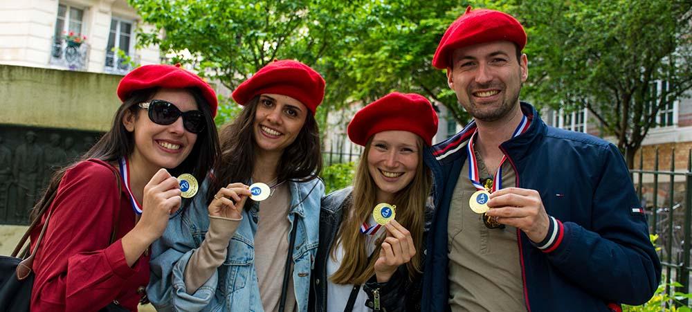 Un team building ludique à Montmartre réussi avec l'entreprise Sojern