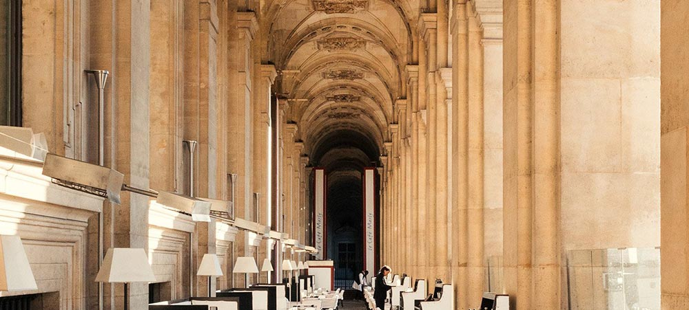 Restaurant with a view Café Marly, Louvre Palais-Royal district