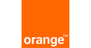 orange logo business service