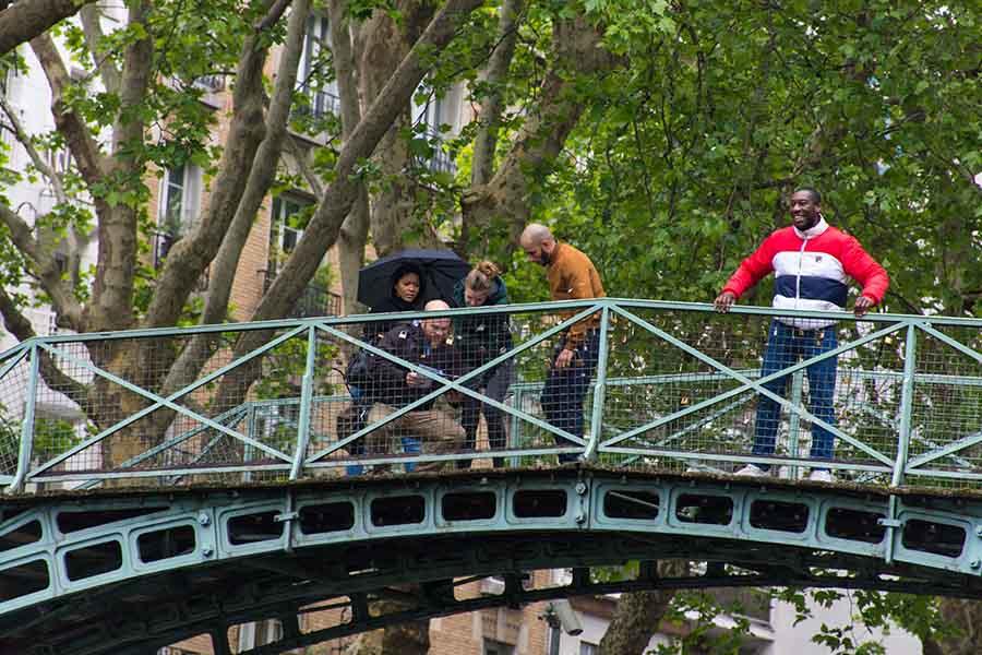 team building à Paris pour 20 personnes Canal Saint-Martin