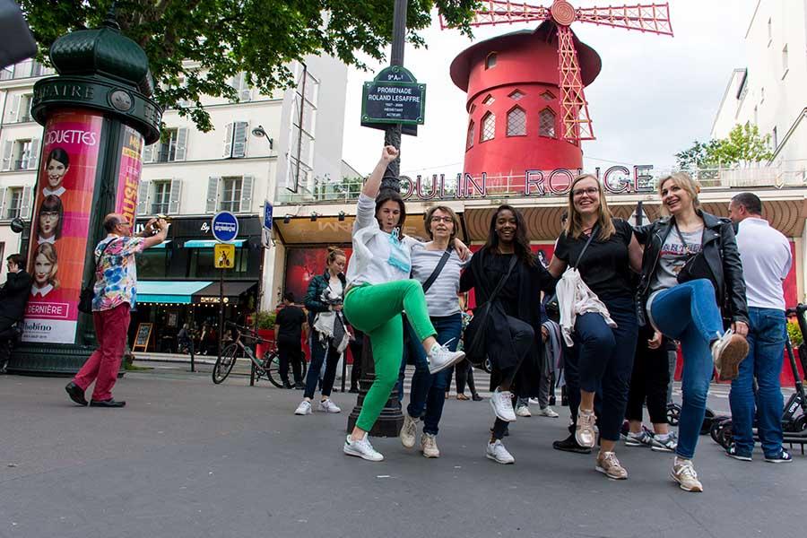 team building à Paris pour 20 personnes Montmartre