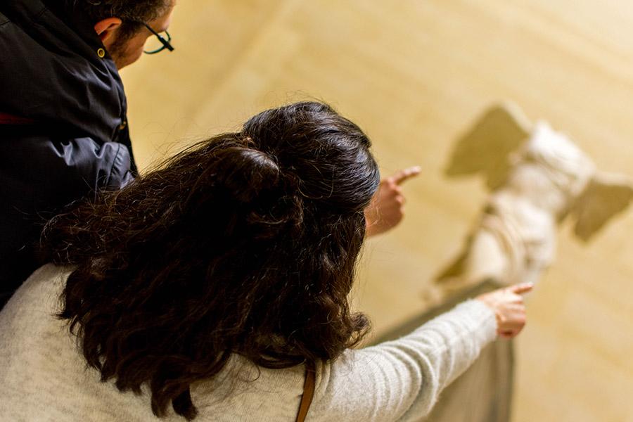 team building à Paris pour 20 personnes musée du Louvre