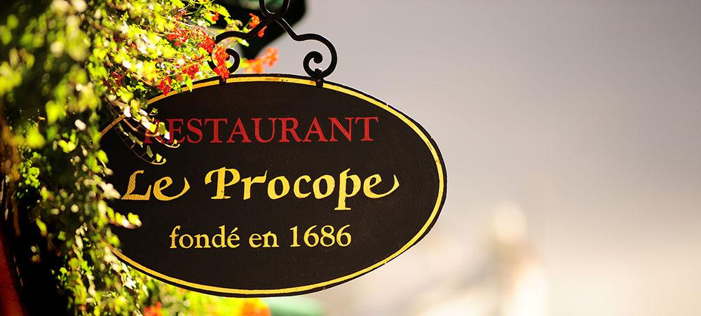 Restaurant quartier Notre-Dame : Le Procope le plus vieux café à Paris