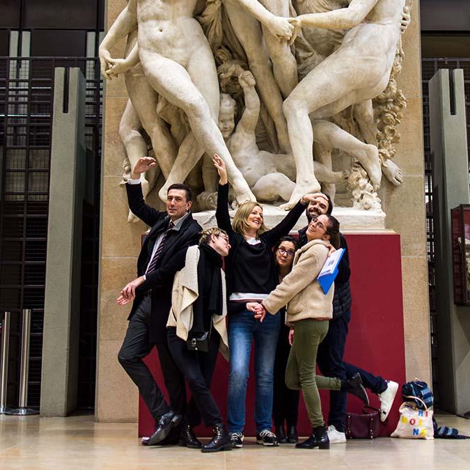 team building musée d'Orsay
