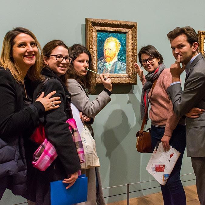 team building musée d'Orsay van gogh