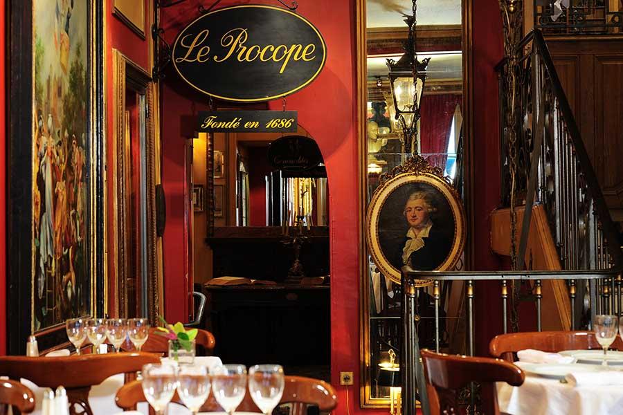 café à Paris Le Procope