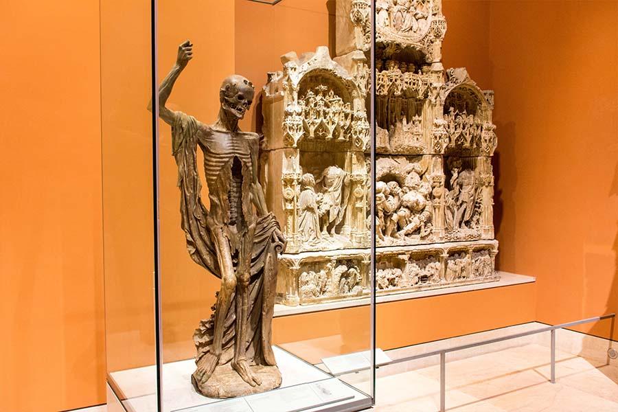 """œuvres insolites du Louvre la """"Mort Saint-Innocent"""""""