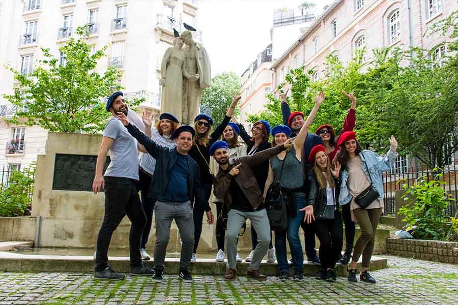 Rallye entreprise à Paris