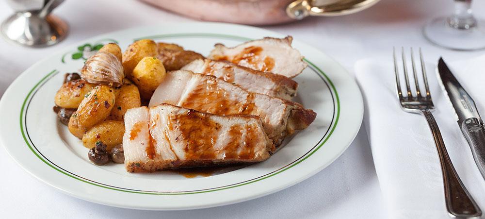 French Cuisine In Paris Traditional Restaurant Au Pied De Cochon