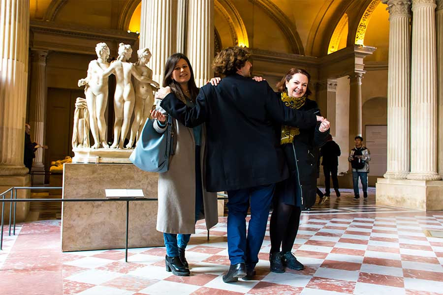 chasse au trésor adulte - team building Louvre