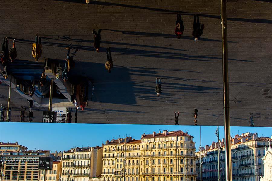 Marseille ville dynamique vue du Vieux port